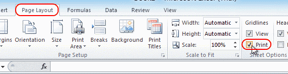 microsoft print to pdf shows lines