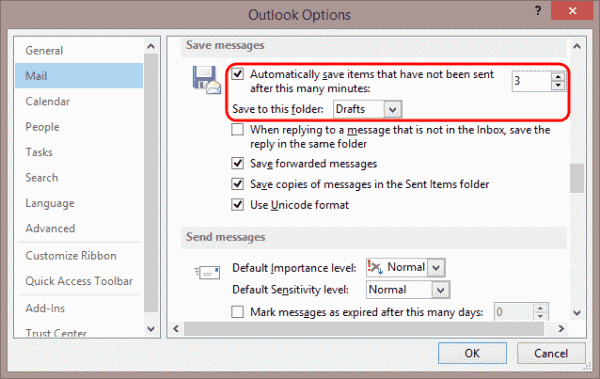 How do I restore attachments previously saved in my drafts box?