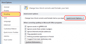 How to Disable Automatic Numbering and Bulleting in Word