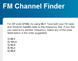 Find the Best Radio Station for iPod or iPhone FM Transmitter