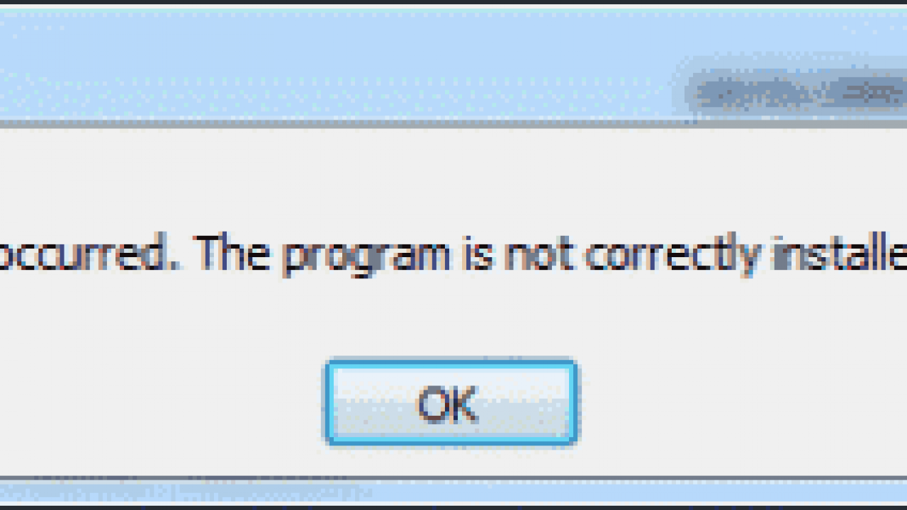 """Outlook: Error """"An OLE registration error occurred  The program is"""