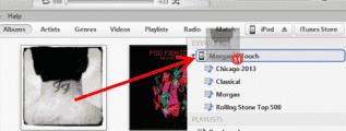 iTunes Send Album to Apple Device