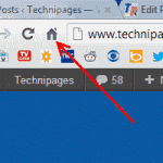 Enable Home Button in Google Chrome
