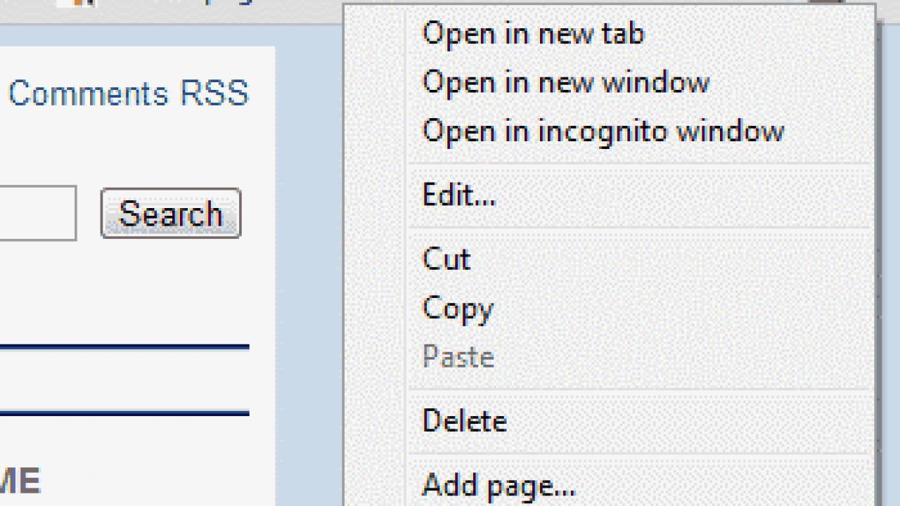 Google Chrome: Bookmark Bar Disappears – Fix