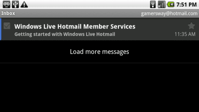 Inbox with Hotmail