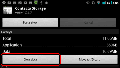 how to delete the whole page in android