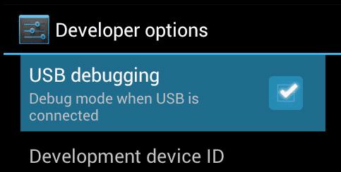 Nexus 5X: Enable USB Debugging
