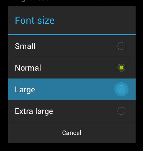 Change font beamer