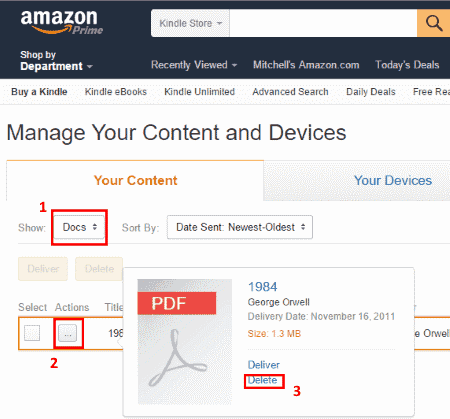 How To Pdf Files To Amazon Kindle