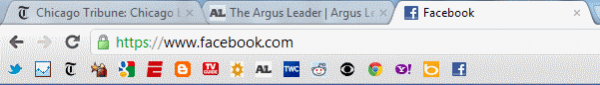 How to Fit More Bookmarks On the Google Chrome Bookmark Bar