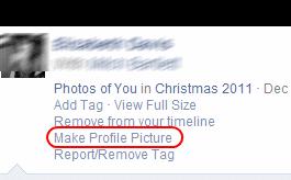 FB Mobile Make Profile Picture link