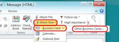 Outlook 2016: Export All Contacts to vCard Files - Technipages