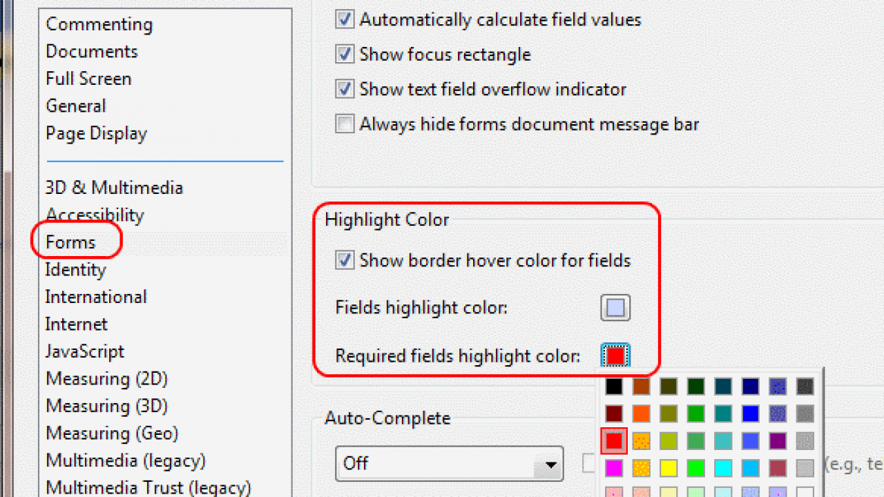 Adobe Reader: Change Highlight Color - Technipages