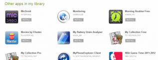 Google Play - My Android Apps