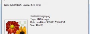 Error Unzipping file