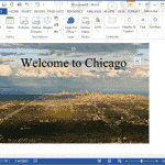 Word 2016: How to Set Background