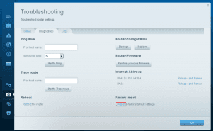 Linksys EA3500: How to Hard Reset