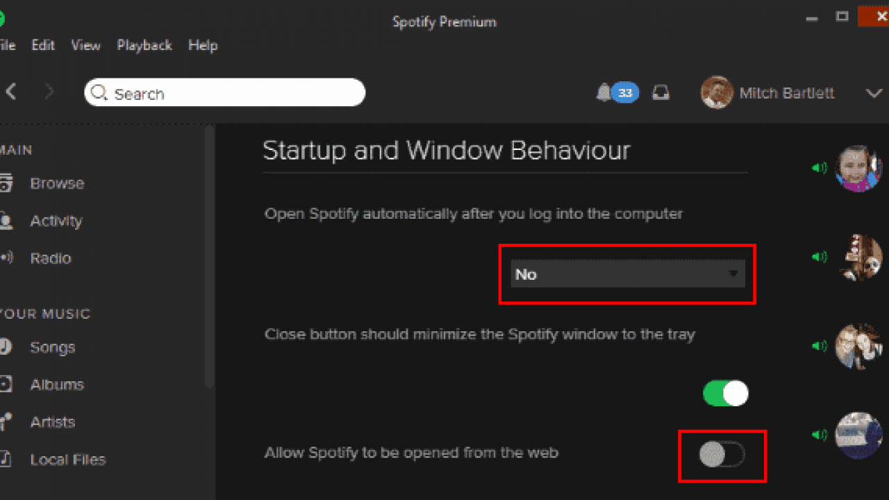 Spotify Disable Automatic Startup Technipages