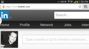LinkedIn: How to View Full Version Website On Android or iPhone