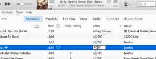 iTunes correct artist