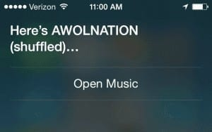 iPhone Siri Shuffle