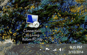 RDP Icon on Desktop