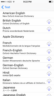 iOS Dictionaries