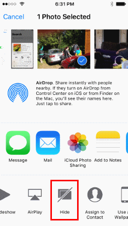 iPhone & iPad: How to Hide or Unhide Photos & Videos