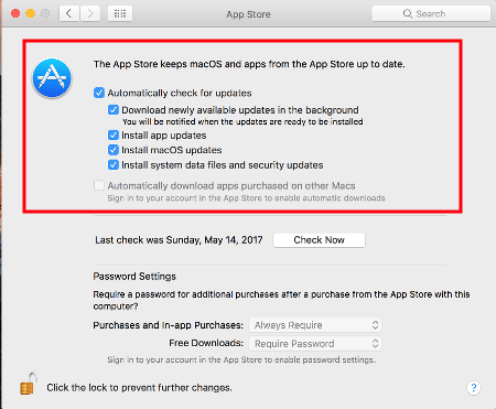 Disable Apple Software Update Screen - Technipages