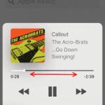 iPhone & iPad: Fast-Forward & Rewind Music