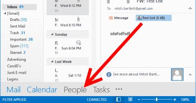 how to add group of people in outlook