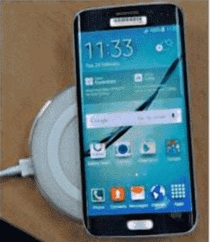 Galaxy S6 Edge Wireless Charge