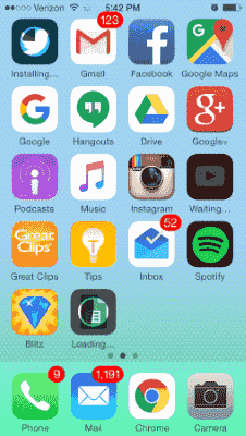 Iphone 5 app stuck installing on ipad - The Freddy Files