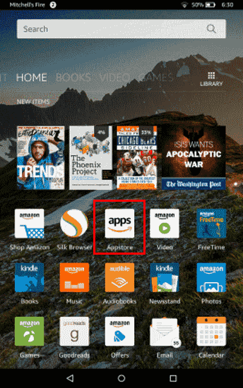 Amazon Fire: Download & Install Apps