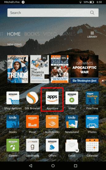 Fire Appstore icon