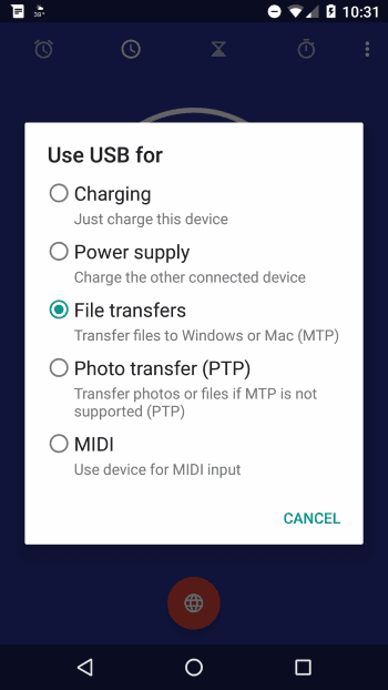 5X File Transfers option
