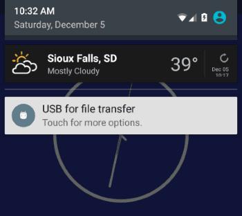 5X USB for File Transfer option