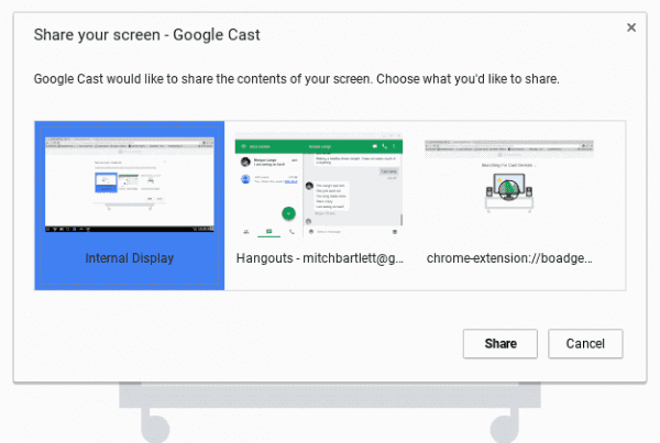 Connect Chromebook to TV