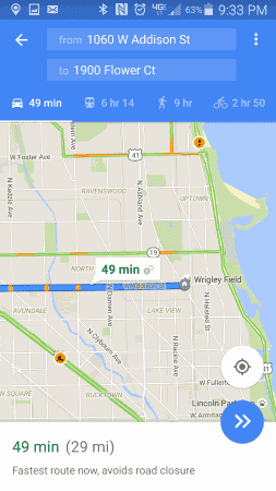 Google Map with Traffic