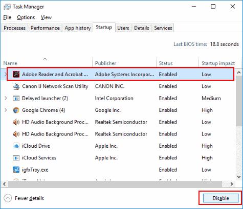 Change Pc Startup Programs Windows 7