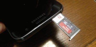 Galaxy S7: Insert or Remove SIM & SD Card Tray