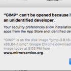 """MacOS: Disable """"{appname} can't be opened because it is from an unidentified developer"""""""