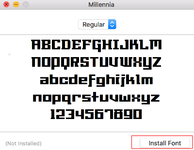 MacOS: How to Add or Remove Fonts