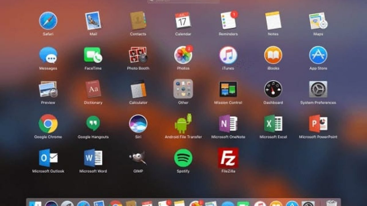 Macos Reset Launchpad Apps Order Technipages