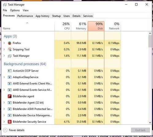 Windows 10: Improve Startup Time