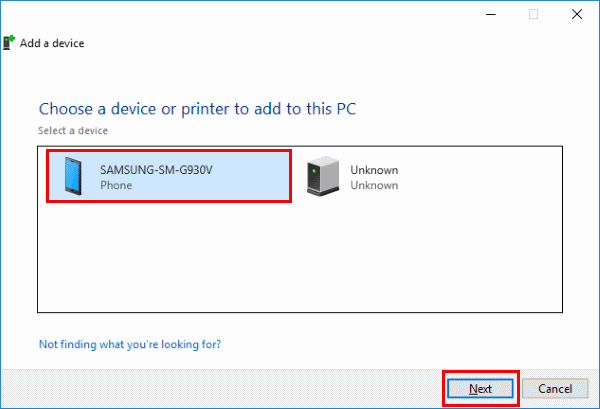 Transfer Files Between Android & Windows 10 Via Bluetooth ...