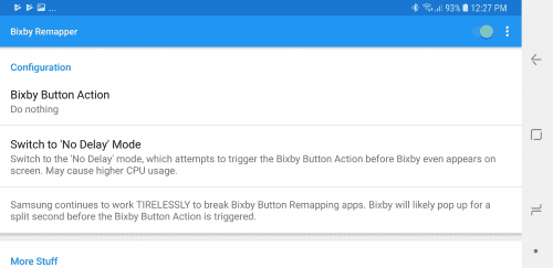 Galaxy Note8/S8: Disable Bixby