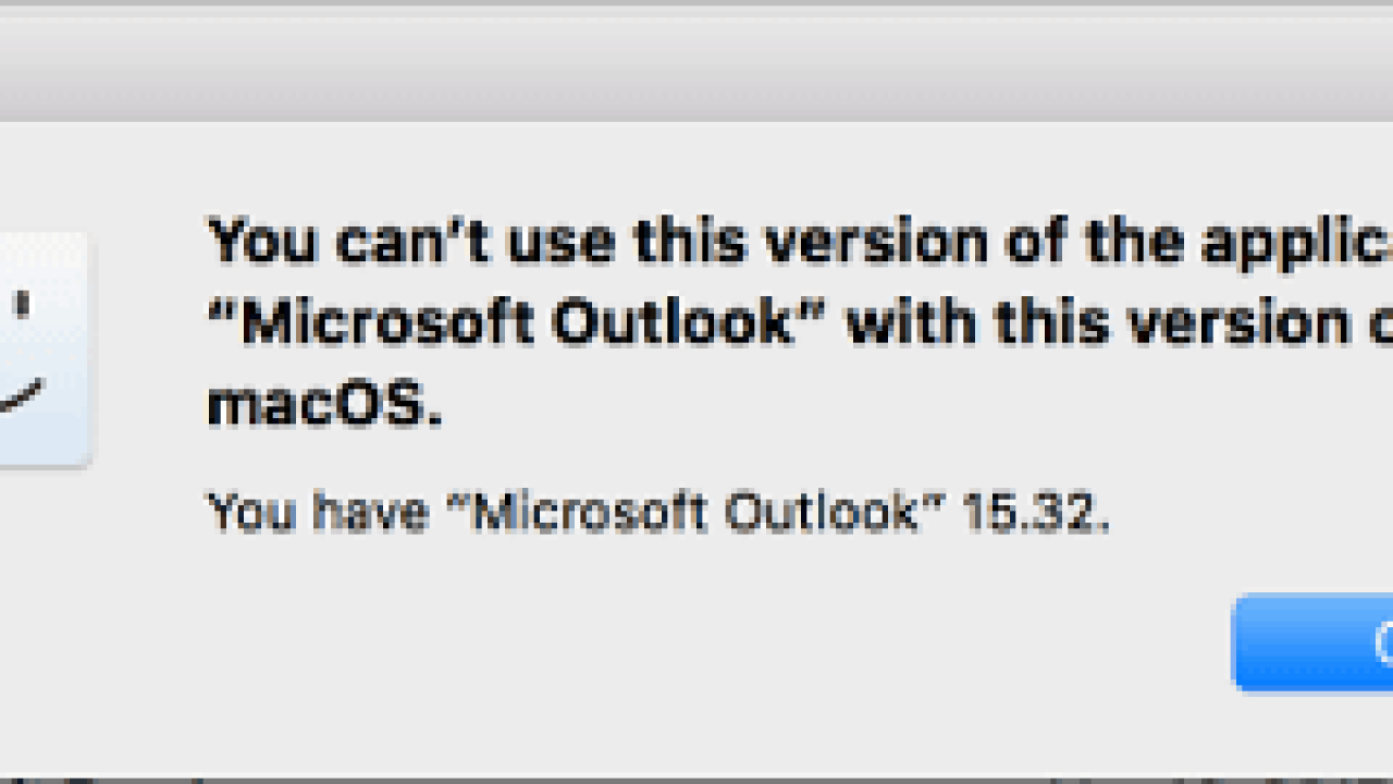 Outlook Won't Work in MacOS High Sierra - Fix - Technipages