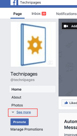 Facebook: Change Business Page Name