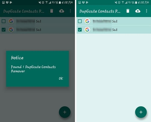 Android: Remove Duplicate Contacts